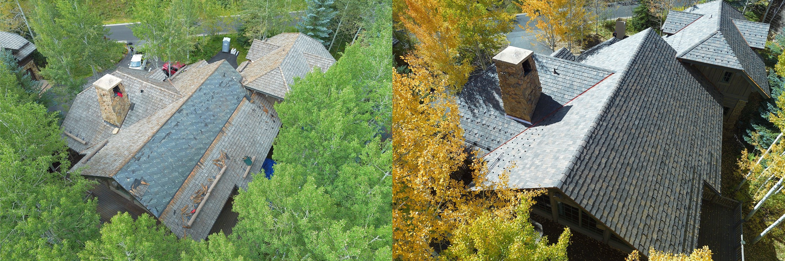 Comparison roof replacement