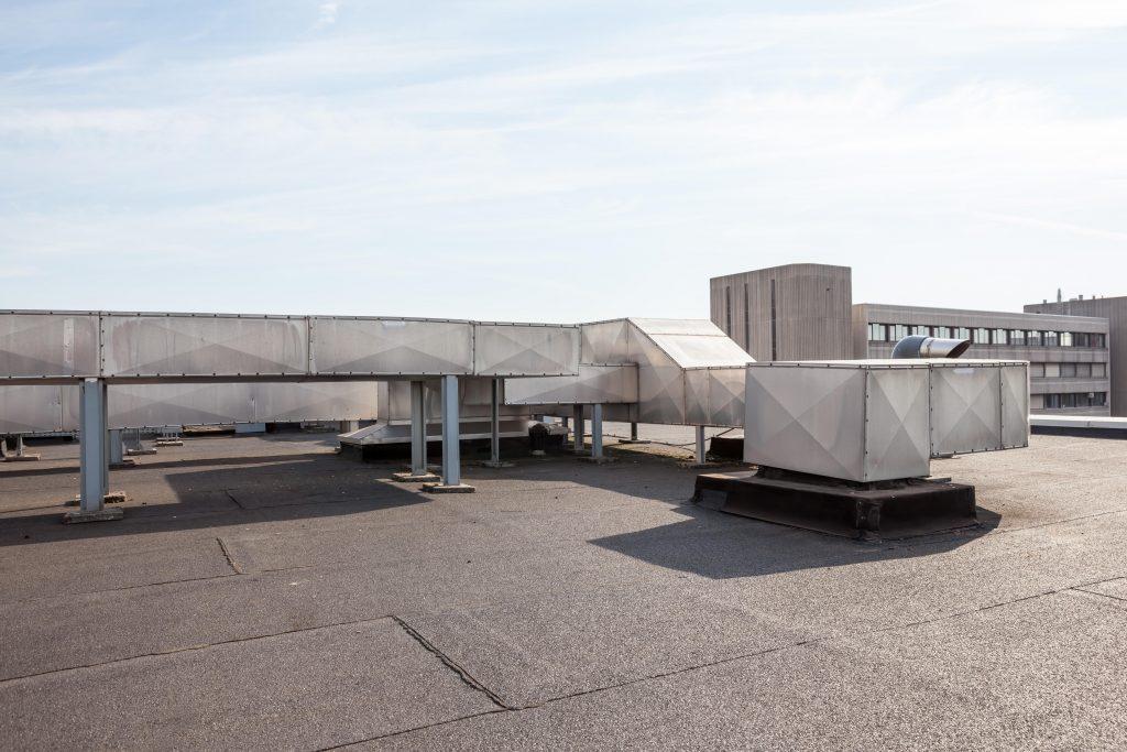 Asphalt Commercial Roof